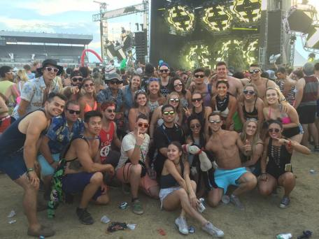 The crew @ Escapade