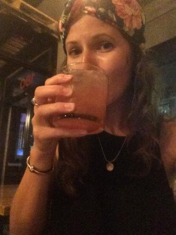 Charlotte drinking her death
